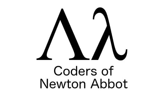 Coders of Newton Abbot logo.