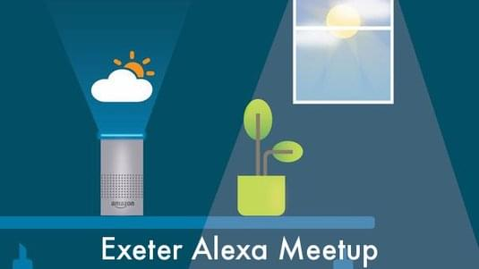 Exeter Amazon Alexa Meetup logo.