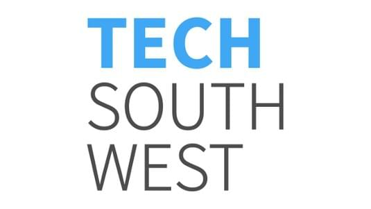 Tech South West logo.