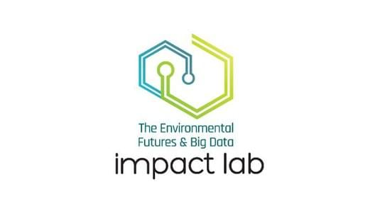 The Environmental Futures & Big Data Impact Lab logo.